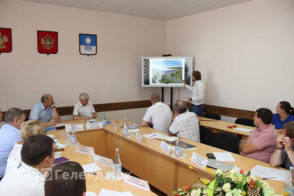 В Геленджике прошла презентация проекта новых очистных сооружений
