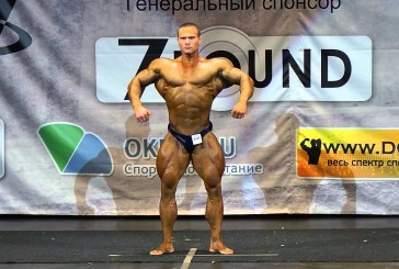 МК бодибилдера Аркадия Величко