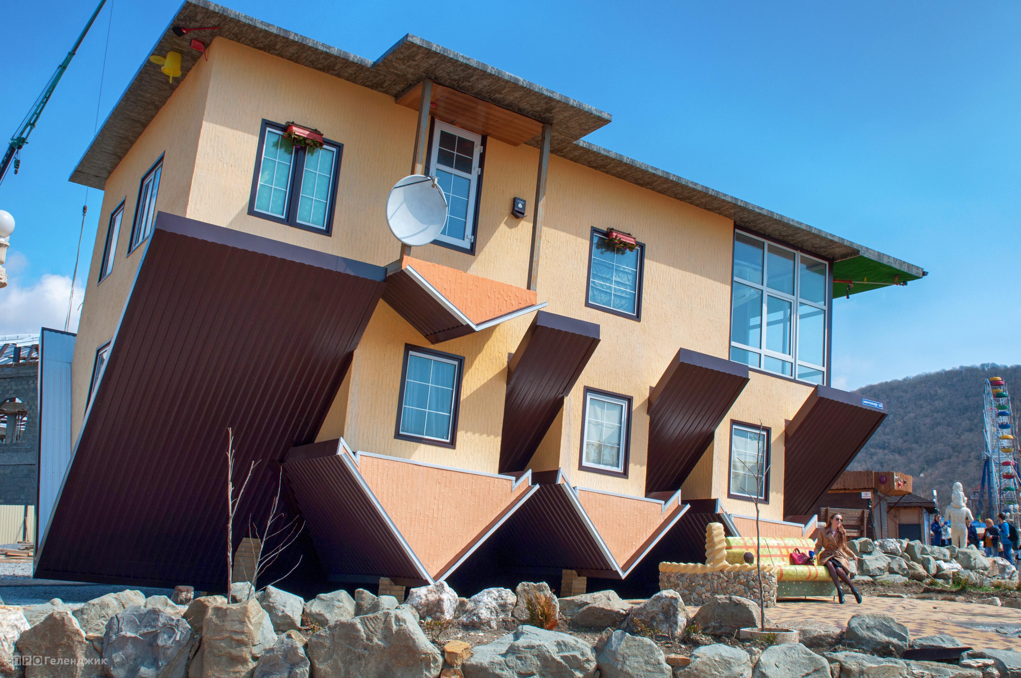 Перевернутый дом в кабардинке фото 8