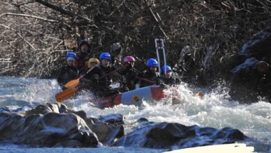 Рафтинг по реке Белая из Геленджика