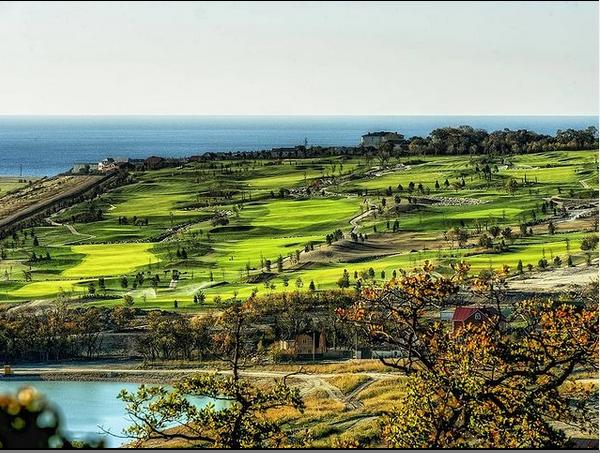 гольф в Геленджике